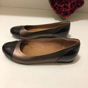 Clark soft shoes with high quality leather